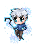 Chibi Jack Frost by AnimeWaterFall