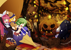 Disgaea Halloween! by Miamelly