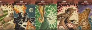 Marvel Masterpieces II APs 2 by OtisFrampton