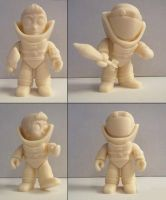 3D printed Bomb Suit Solider Figure by hauke3000
