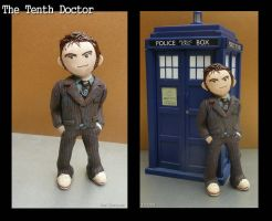 Clay Tenth Doctor by vandonovan