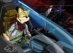 Fox::DueloEspacial by t-bone-0