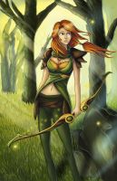 Dota 2 - Windrunner by Scylla812