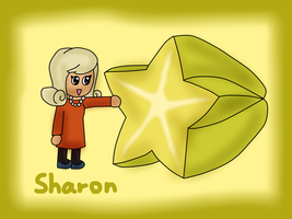 PL fruit chibi - Sharon by kenabe