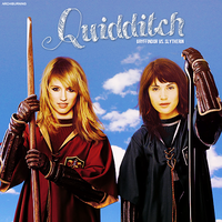 DIANNA AGRON and GEMMA ARTERTON - QUIDDITCH by archiburning