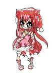 Christmas Nyan from Paigeeworld finished tutorial by HatsuneSnow