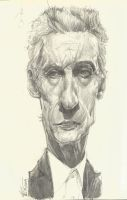 Peter Capaldi by SahchaS