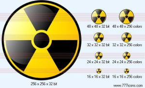 Radiation Icon by medical-icon-set