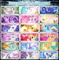 Friendship is Magic Tag Wall 3 by Paradigm-Zero