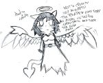 Angel Sketch by Elmont