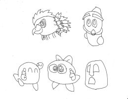 Kirby Characters 5 by Dancrew2010