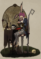'Mellowbrains March Hare by marshmellowbrains