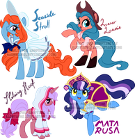 Various pony adoptables3 by Sakuyamon