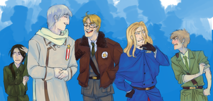 Hetalia: The Heroes by SplitSoulSister