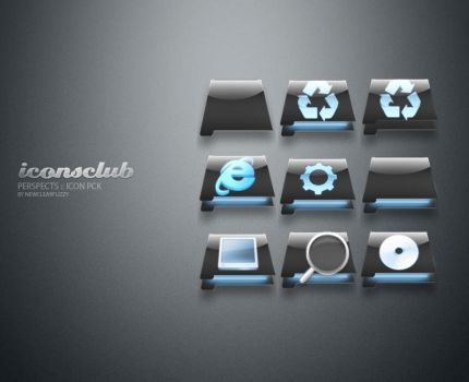 Perspects :: Icon pck by IconsClub
