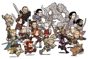 DRAGON AGE Origins Awakening by SandikaRakhim