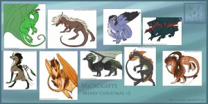 Microgifts Happy Holidays by Simander