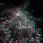 Whirlpool of Incarnations 2 Anaglyph 3D Stereoscop by Osipenkov