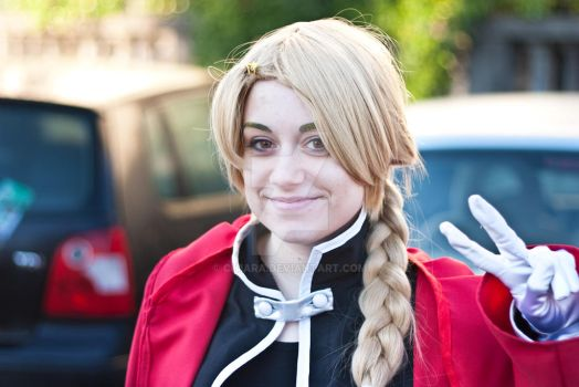 Edward Elric - Full Metal Alchemist by Ch1ara