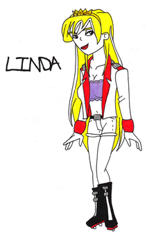 Linda humanized by SUP-FAN