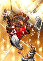 Basketball game cover by JPRcolor
