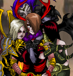 Happy Valentines Day From the Darksiders Females by AngelKiller666