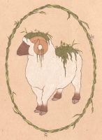 Mossy Sheep by Longhair