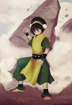 colored 150 Toph Bei Fong by Enara123