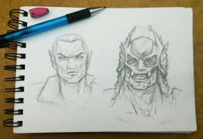 Dumah Sketches by sinDRAWS