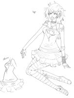Payper Lineart by Heather-Scribble