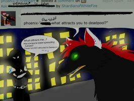 Ask DeadWolf-Attraction? What Attraction? by ShardianofWhiteFire