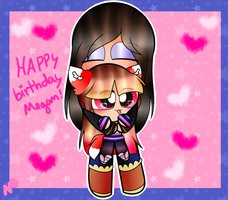 ~Happy  Birthday Megan! by Nini-the-kitty
