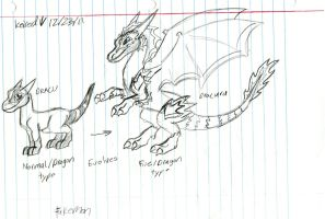 Dracu evolution (Very old concept) by Dinoboy134