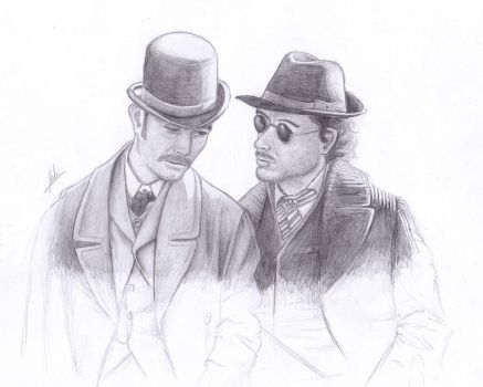 Holmes and Watson by FullRings