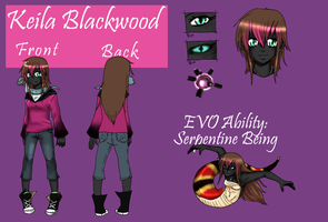 GR OC: Keila Blackwood by NightmareInspections