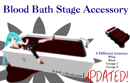 MMD Blood Bath Download (UPDATED) by MMD-Nay-PMD