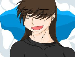 Me Anime Style COLORED by Kami-Jazzu