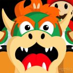 Bunny Ears Bowser by JustinRampage