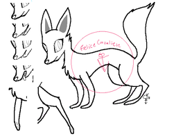 EFFICIENT FOX LINE ART (PAY TO USE) by FeliceCavaliere