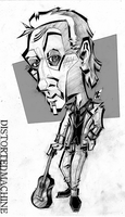 Tobin Bell Caricature by Austin-Hodge