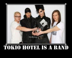 Tokio Hotel is a band by tendology