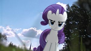[MLP en vrai] Rarity not amused by VBASTV