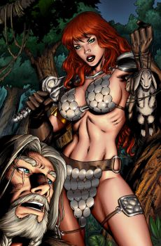 Red Sonja 41 pag 02 by wgpencil