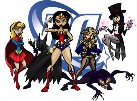 Dc Girls by the-Jeb-D