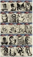 Marvel Masterpieces I B by BillReinhold