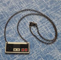 Nintendo NES Controller Necklace by PlayBox-Designs