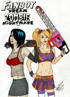 Fanboy Dream, Zombie Nightmare by mumblingwildebeest