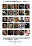 Sherlock Holmes Expressions by Silvre