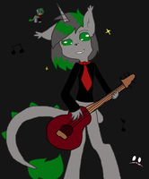 Onyx Playing His Gituar by PW-Lovehearts-16