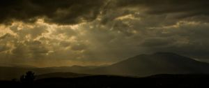 Light on Ascutney by b-a88